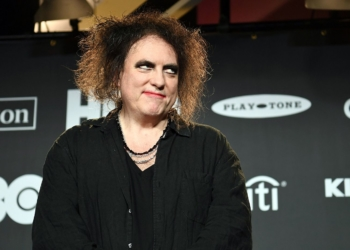 Mandatory Credit: Photo by Andrew H. Walker/REX/Shutterstock (10181645ar) Robert Smith Rock and Roll Hall of Fame Induction Ceremony, Press Room, Barclays Center, Brooklyn, USA - 29 Mar 2019