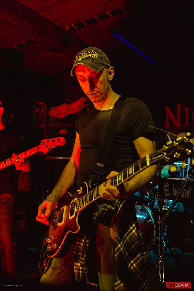 Фотоотчет: Ё-Band в Москве, бар Night Train