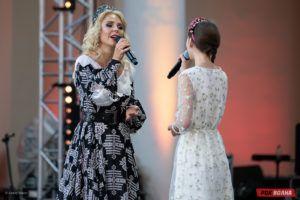 Фотоотчет: Пелагея в Москве, Зеленый театр ВДНХ