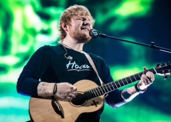 Mandatory Credit: Photo by Brandon Nagy/REX/Shutterstock (9878002e) Ed Sheeran Ed Sheeran in concert at Ford Field, Detroit, USA - 09 Sep 2018