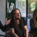 Korn members James ìMunkyî Shaffer, Jonathan Davis and Brian ìHeadî Welch discuss the bandís tour and new album at a fan event at the offices of LiveNation in Beverly Hills.