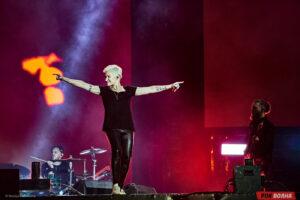 Live&Drive в Москве: Диана Арбенина и группа Ночные Снайперы