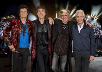 LONDON, ENGLAND - FEBRUARY 26:  An exclusive image of The Rolling Stones taken on October 25th 2017 in Paris. In conjunction with the announcement of part two of the 'STONES - NO FILTER' tour in Europe and the UK. Starting in Croke Park, Dublin, Ireland on 17th May 2018 and continuing in Manchester, Edinburgh, Cardiff and London. Image released on February 26, 2018 in London, England.  (Photo by Dave J Hogan/Dave J Hogan/Getty Images for The Rolling Stones)