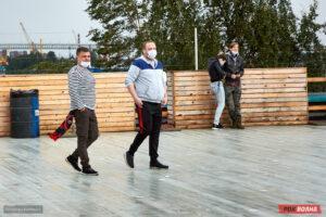 Полигон фест: Панки, хой! на питерской крыше Roof Place