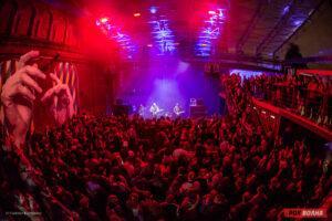Концерт Motorama на сцене питерского пространства K-30